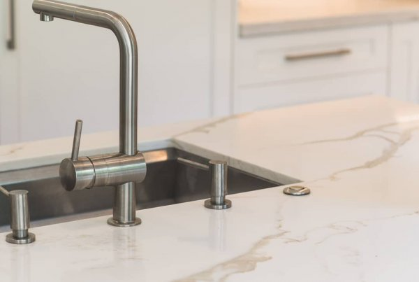 Castle Bay Tandam Faucet and Soap Dispenser