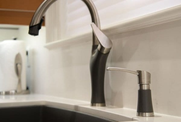 Blanco Artona Faucet and Soap Dispenser